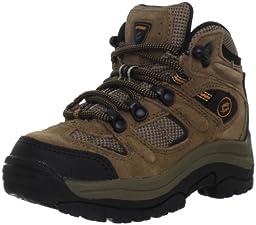 Nevados Cire Mid V1024Y Hiking Boot (Toddler/Little Kid/Big Kid),Brown/Black/Orange,1.5 M US Little Kid