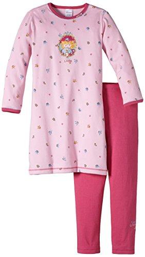 Mädchen nachthemd nachthemd 1 1 mit leggings gr 92 herst