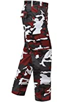 UF BDU Pant Red Camouflage
