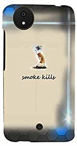 Printvisa Quotes Smoke Case Cover for Micromax Canvas A1