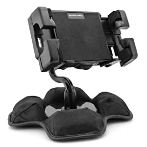 AutoDASHMOUNT Fully-Adjustable Portable Friction Dash Mount For VIZIO VTAB1008 , Acer iconia A100 , Dell Streak 7 and more 7-inch and 8-inch Tablets ** Includes Cleaning Kit**