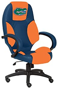 NCAA Florida Gators Leather Office Chair by Wild Sales