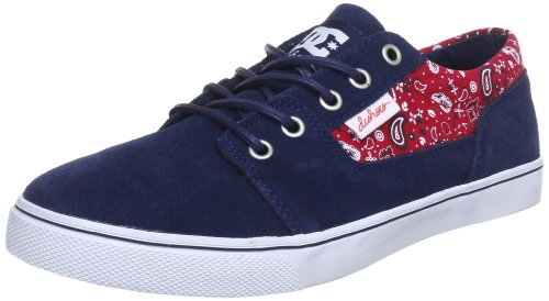 DC Shoes BRISTOL LE WOMENS BRISTOL LE Trainers Womens Blue Blau (NAVY/RED) Size: 3.5 (36 EU)