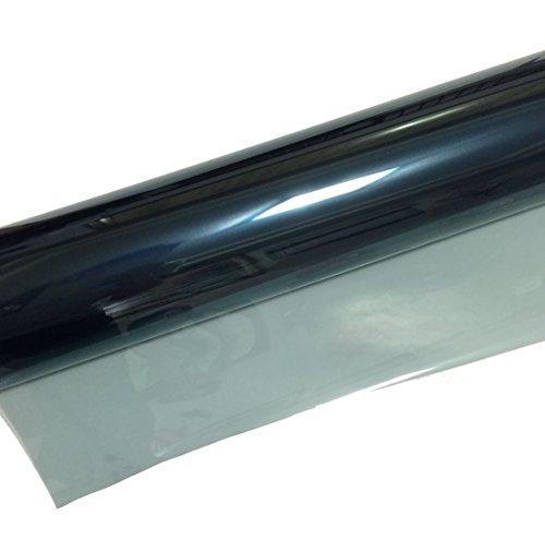 Taiwan Present SolarKing Premium UV Blocking Shatterproof Nano Ceramic Window Tint - Self Adhesive Kit with Scraper - Charcoal Black (70 Vlt Window Tint compare prices)