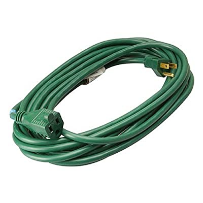 Master Electrician 02352-05ME 20-Foot 16/3 Vinyl Landscape Outdoor Extension Cord, Green 20-Feet