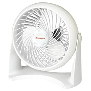 Honeywell Tabletop Air-Circulator Fan, White, HT-904