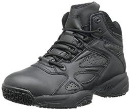 SkidBuster Footwear Men\'s 5053 Slip Resistant Work Shoe,Black,10 M US