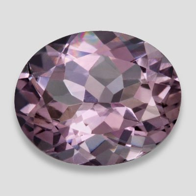 1.10ctw Excellent 8X6mm Oval Cut SI Clarity Purple Amethyst Color Loose Gemstone