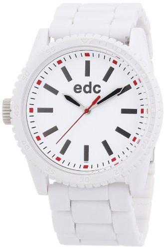 Esprit Esprit A.Ee100482002 - Reloj de mujer de cuarzo, correa de plástico color blanco