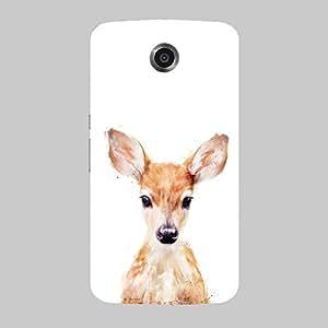 Back cover for Nexus 6 Cute Deer