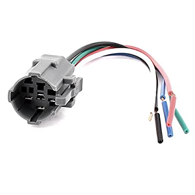 DC 12V Car 5-Wires Relay Socket Connector