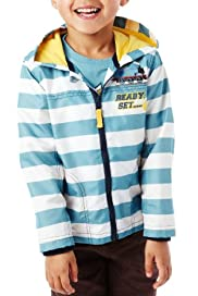Hooded Thomas & Friends© Striped Mac [T88-9067C-S]