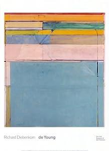 (26x36) Richard Diebenkorn Ocean Park 116 1979 Art Print Poster