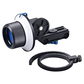 Opteka FF180 Reversible Follow Focus for Digital SLR and Video Cameras