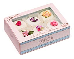 Rose And Co Patisserie De Bain Fairy Cakes & Fancies For The Bath 6 x 45g