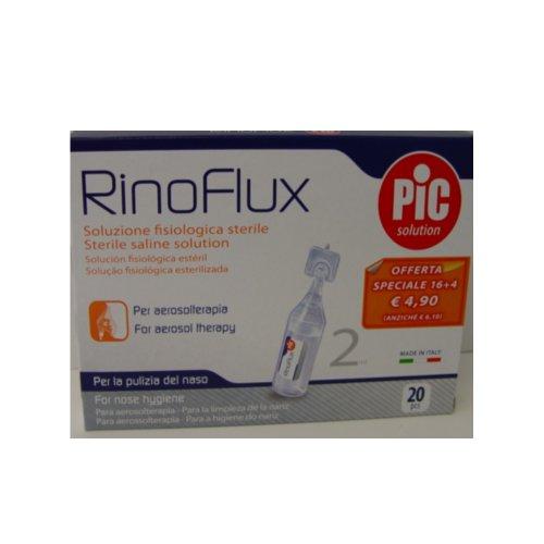 RINOFLUX Soluzione fisiologica 20 Fiale 2 ml