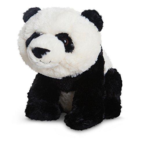 Destination Nation Plüschtier Panda Bär, schwarz