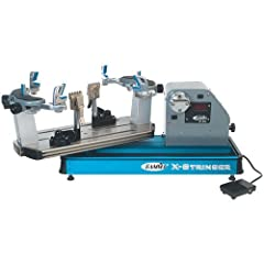 Gamma X-ES Tennis Stringing Machine, Blue Silver by Gamma