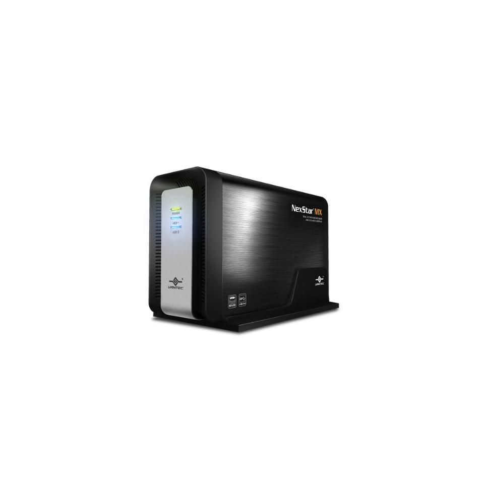 Vantec Dual 3.5-Inch SATA to USB 3.0 and eSATA with JBOD//RAID 0//1 NST-400MX-S3R
