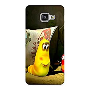 Cute Naughty Friendly Cartoon Back Case Cover for Galaxy A3 2016