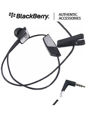 OEM Blackberry 3.5mm Mono Handsfree Headset Headphone Earphone for Verizon Blackberry Tour/Niagra 9630