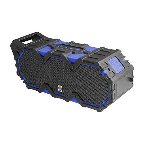 Altec Lansing IMW888-SBLUE Super Life Jacket Wireless Waterproof Speaker w/Microphone, Superman Blue