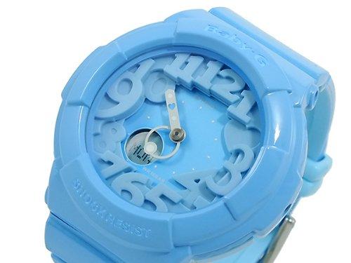 Casio CASIO baby G baby-g neon Dial Watch BGA130-2B blue [parallel import goods]