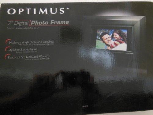 Optimus 7- Inch Digital Photo Frame