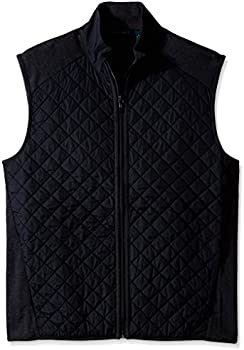 Perry Ellis Men's Big & Tall Quilted Vest