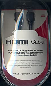 Sony Hdmi Cable Ps3 from Sony