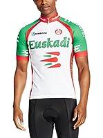 MOA Maillot Ciclismo Euskadi (Blanco / Verde / Rojo)
