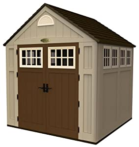 Suncast BMS7775 7-1/2-Feet by 7-Feet Alpine Shed