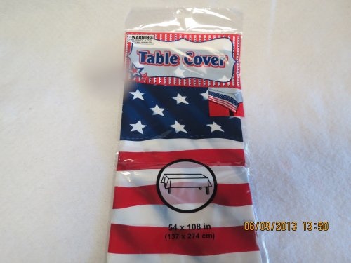 U.S.A. 4th of July Table Cover