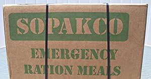 MRE (Meals, ready to eat) FEMA Case of 14 with Ration Heaters