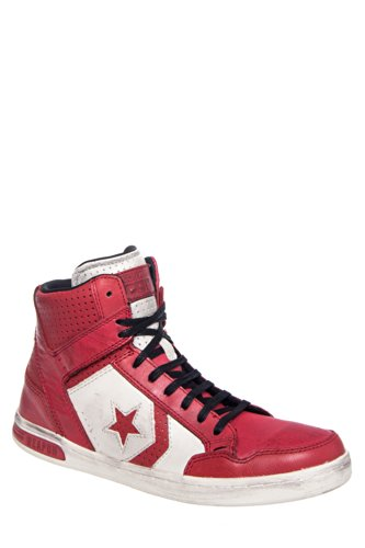 Converse by John Varvatos Men'S Jv Weapon Hi Top Sneaker