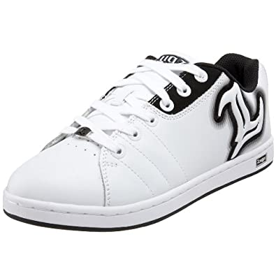 Lugz Men's Reflector Sneaker,White/Black,13 D US