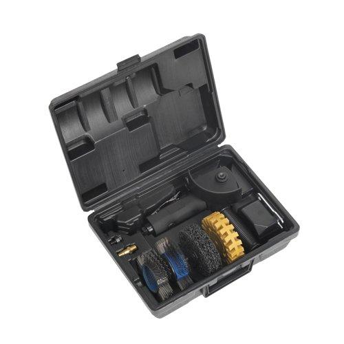 Sealey QAV200 Vice Quick Action Cast Iron, 200 mm