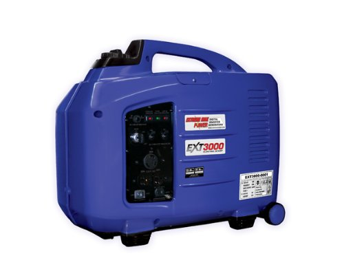 Extreme Max EXT3000 2800 Watt Electric Start Inverter Generator