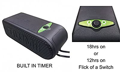 LUMii Tima 600w or 400w HPS MH Ballast Timer Grow Light Silent Cool Running Hydroponics - 12m Warranty