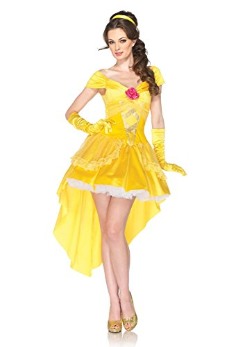 4 Piece Enchanting Belle Costume Adult Belle Costume 85054