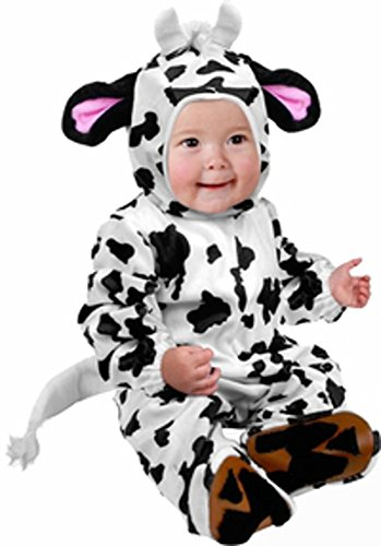 Infant Cow Farm Animal Baby Halloween Costume (6-12 Months)