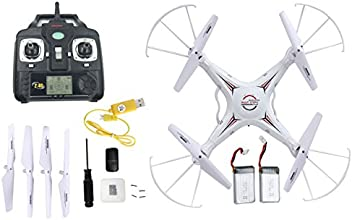 Holy Stone RC Quadcopter w/ 720p HD Camera(Photo/Video),come with 2 Batteries, 4CH 2.4GHz,equipted with Headless Security System,M68R(Plus) RC Drone