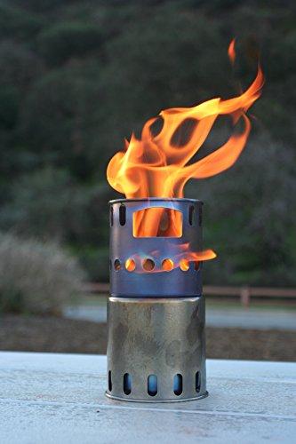 TOAKS Titanium Backpacking Wood Burning Stove (Titanium Cookware Toaks compare prices)