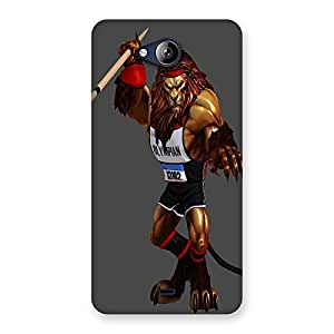 Ajay Enterprises Untitled-1 Back Case Cover for Canvas Play Q355