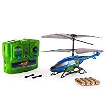 Air Hogs, Axis 300x RC Helicopter With Batteries - Blue & Green