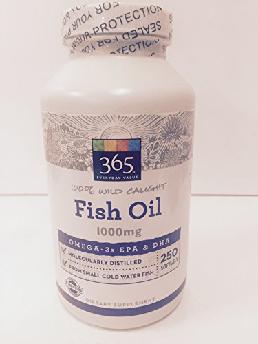 365 everyday value fish oil molecularly distilled for Distilled water for fish
