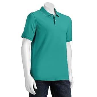 croft barrow classic fit solid pique polo men at