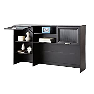 Realspace Magellan Collection Hutch 33 5 8 H X 58 1 8 W X 11 5 8 D Espresso