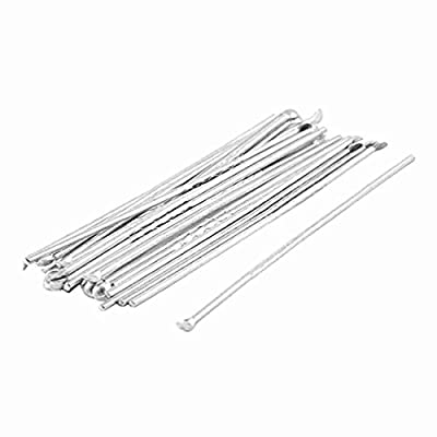 Move&Moving(TM) 22 Pcs Silver Tone Cleaner Earwax Curette Remover Ear Pick