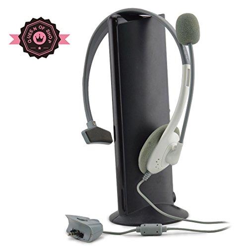 Xb480Xbox White Headset Headphone + Mic Microphone For Xbox 360 Live